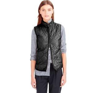 J. Crew quilted primaloft layering Vest #3580